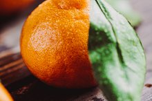 Tasty tangerines on a table by  in Food & Drink