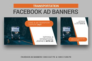 Transport Facebook Ad Banners