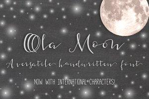 Ola Moon Typeface