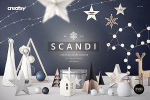 SCANDI - Christmas Scene Creator