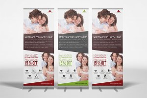 Mortgage RollUp Banner Template