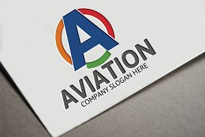 Aviation Logo / A Letter