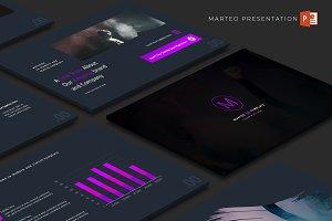 Marteo - Powerpoint Template