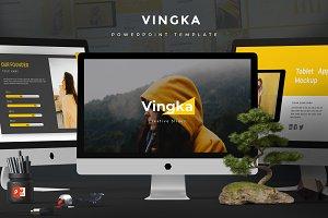 Vingka - Powerpoint Template