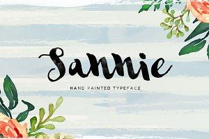 Sannie Typeface