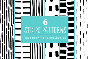 Stripe Line Brush Patterns