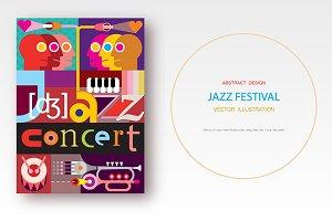 Jazz Concert / Jazz Festival vector