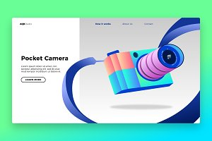 Photogrpahy - Banner & Landing Page