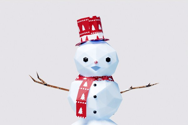 3D Models: Studio Ochi - Christmas Decorations