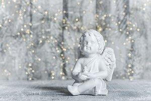 Little guardian angel festive lights