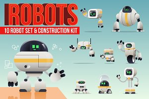 Robot set & Construction Kit