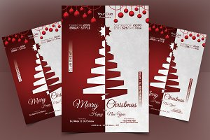 Merry X-Mas - PSD Flyer Template