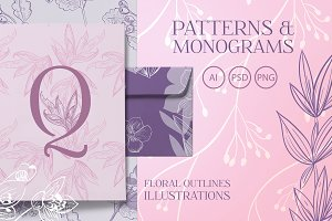 Floral Patterns and Monograms