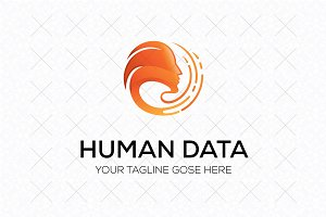 Human Data Logo Template