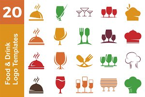 20 Logo Food & Drink Bundle