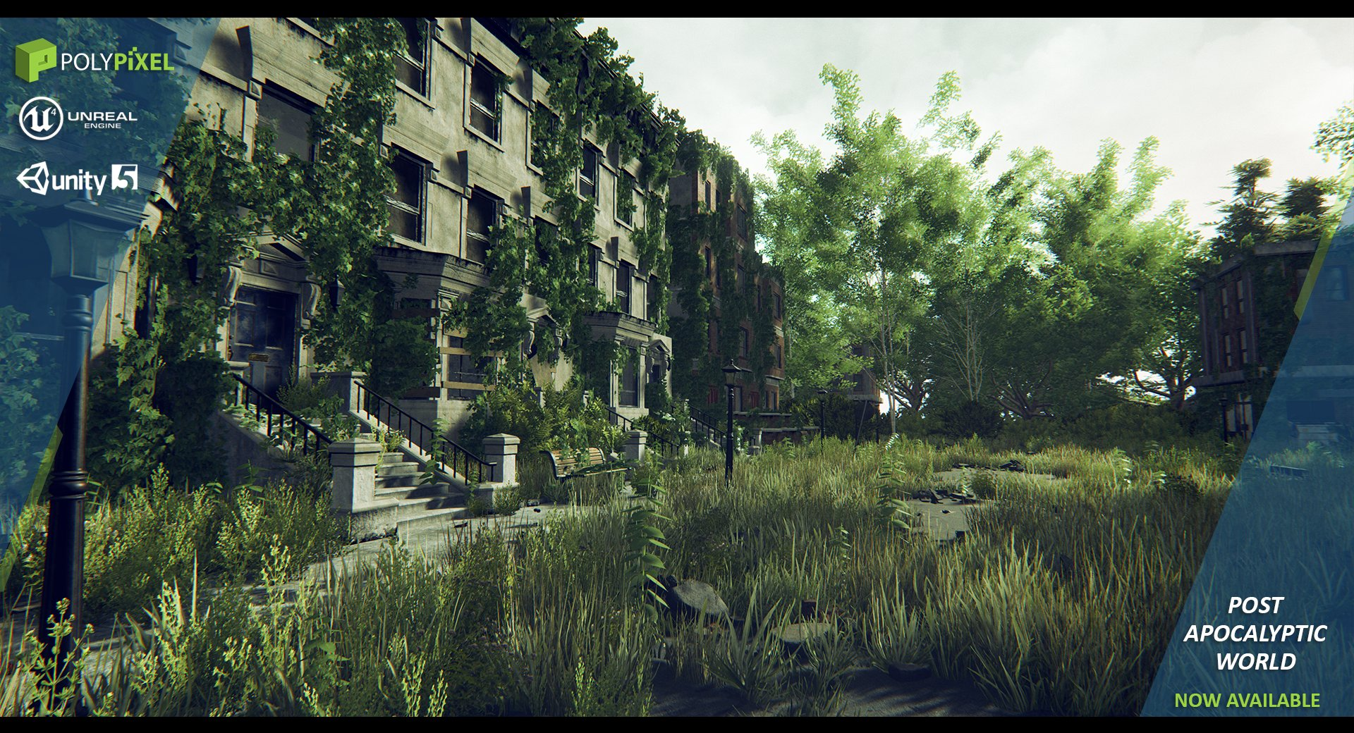 Post Apocalyptic World ~ 3D Models ~ Creative Market
