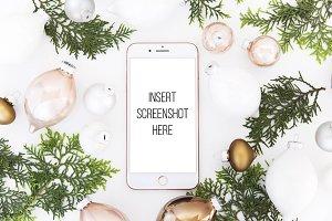 Christmas Smart Phone Mockup