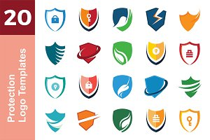 20 Logo Protection Templates Bundle