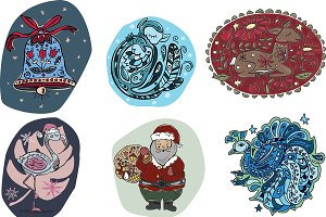 Christmas vector pack 1