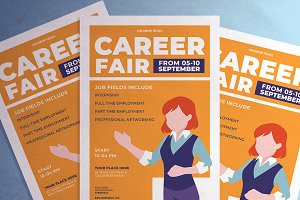 Career Fair flyer