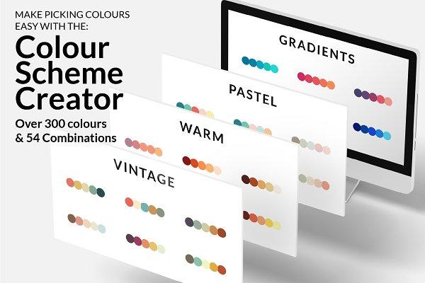Photoshop Color Palettes: New Tropical Design - Colour Scheme Creator