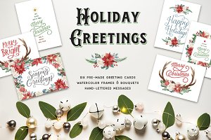 Holiday Greeting Cards & Clip Art