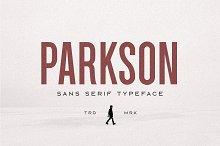 Parkson Sans Serif - 18 Fonts