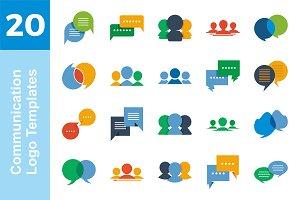 20 Logo Communication Bundle