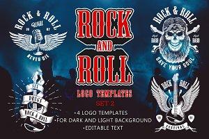 Rock & Roll Designs Set