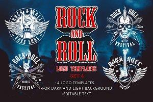 Rock & Roll Music Designs