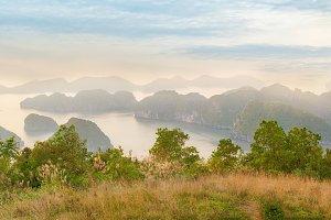 View of Halong Bay, Vietnam