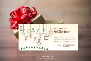 Gift Certificate Template V2