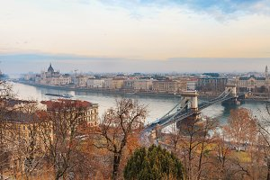 Autumn view of Budapest