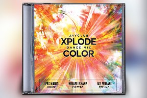 Xplode Dance Mix CD Album Artwork