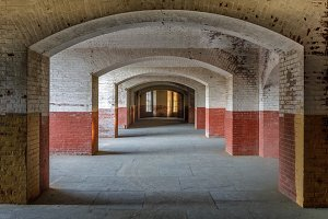 Corridors of Fort Point