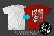 Men's T-Shirt Templates #02
