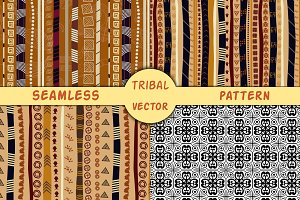 4 original vector African pattern