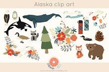 Woodland Alaska Clip Art