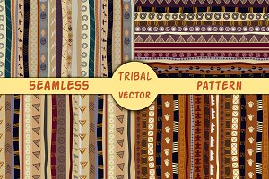 4 vector ethnic seamless texture