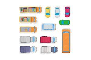 Transport. Automobile Parking on