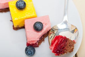 strawberry and mango mousse dessert cake 020.jpg