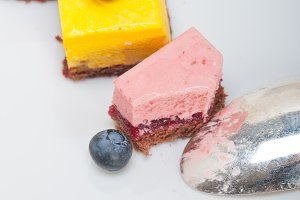strawberry and mango mousse dessert cake 023.jpg