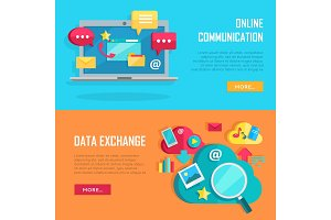 Online Communication and Data
