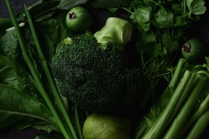 Fresh green food
