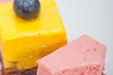 strawberry and mango mousse dessert cake 029.jpg