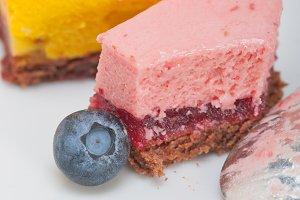 strawberry and mango mousse dessert cake 029.jpg