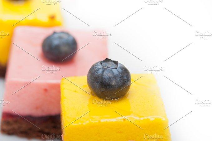 strawberry and mango mousse dessert cake 036.jpg - Food & Drink
