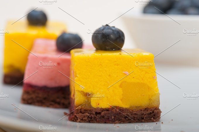 strawberry and mango mousse dessert cake 038.jpg - Food & Drink