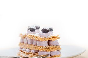 napoleon blueberry cream cake dessert 002.jpg