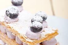 napoleon blueberry cream cake dessert 008.jpg
